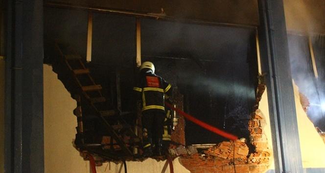 Giresun'daki fabrika yangını kontrol altına alındı