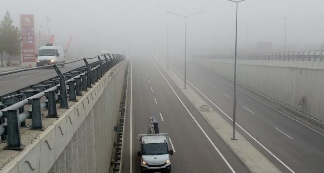 İstanbul-Çanakkale yolunda yoğun sis!