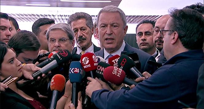 Bakanı Akar: 'Resülayn ve Tel Abyad kontrolümüz altında'
