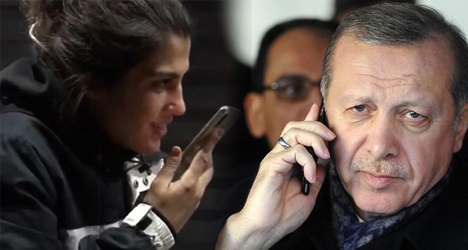 Cumhurbaşkanı Erdoğan, Dünya Şampiyonu Busenaz Sürmeneli'yi tebrik etti