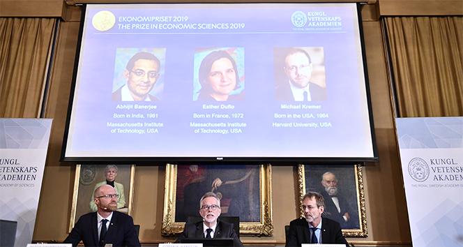 2019 Nobel Ekonomi Ödülü sahiplerini buldu