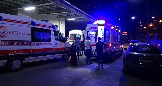Siirt'te kamyon devrildi: 3 yaralı