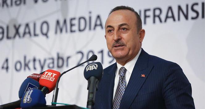 Dışişleri Bakanı Çavuşoğlu: 'Haklı olduğumuz davamızı en iyi şekilde anlatmak için birleşmemiz lazım'