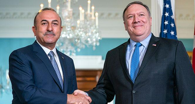 Dışişleri Bakanı Çavuşoğlu, ABD'li mevkidaşı Mike Pompeo ile görüştü