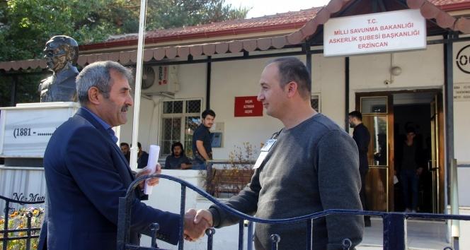 5 çocuk babası Dadaş, Barış Pınarı Harekatı için askerlik başvurusunda bulundu