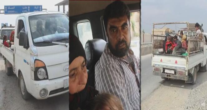 TSK'nın teröristlerden aldığı Tel Abyad'da siviller evlerine dönmeye başladı