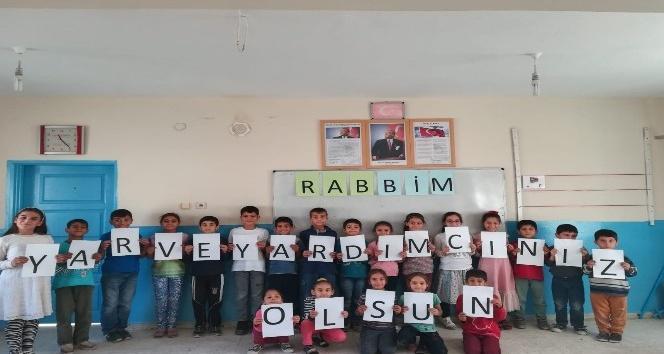 Mardinli öğrencilerden Mehmetçiğe mektup