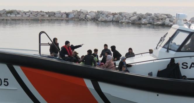 Çanakkale'de 211 düzensiz göçmen yakalandı