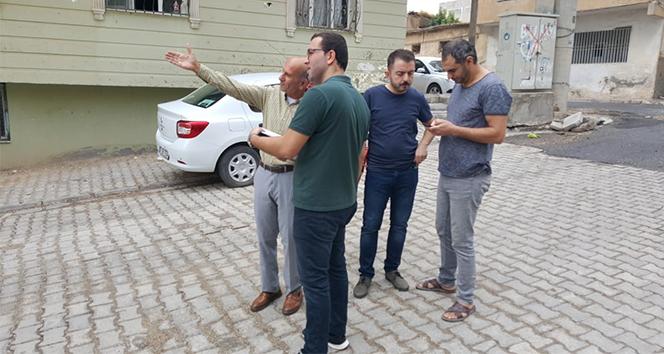 Nusaybin'de hasar tespit çalışmalarına başlandı