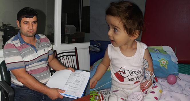Bir baba, kızının tedavisi için yardım bekliyor