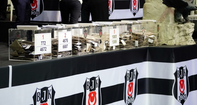 Beşiktaş'ta oy sayma işlemi başladı