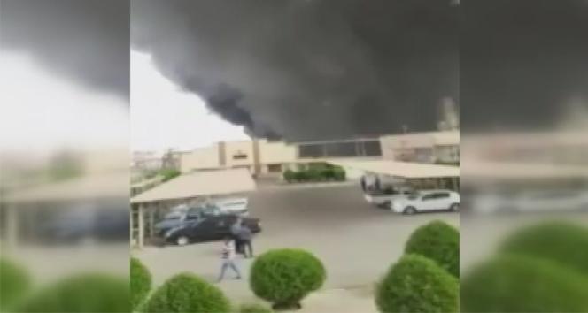 İran'ın en büyük petrol tesisinde yangın