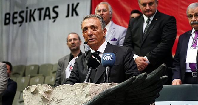 Ahmet Nur Çebi: 'Büyük aşkımla, başkan olarak kucaklaştım'