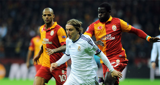Galatasaray ile Real Madrid 8. randevuda