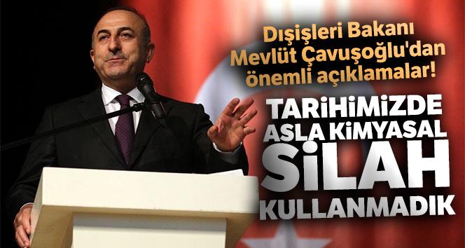 Dışişleri Bakanı Mevlüt Çavuşoğlu'dan önemli açıklamalar!