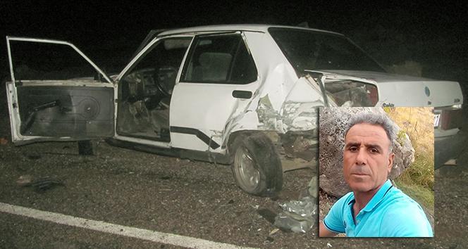 Müzisyen kazada öldü