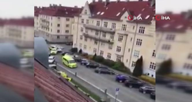 Oslo'da ambulansla saldırı