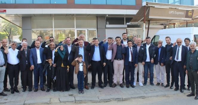 ASİAD Mehmetçiğe selam vererek Avrupa liderlerine mektup gönderdi
