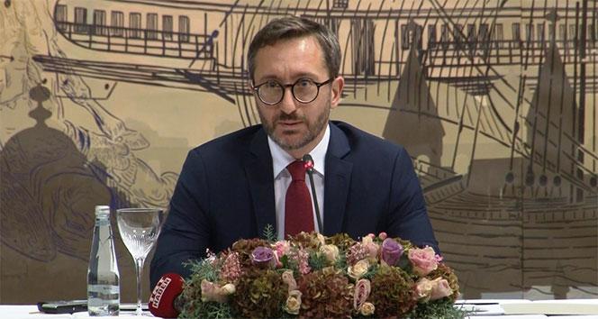 Fahrettin Altun: 'Terörle mücadelemiz, dost ve müttefik ülkelerin işbirliğiyle sürdürülerek neticelendirilecektir'