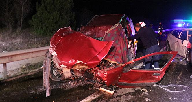 Bolu'da zincirleme trafik kazası: 3 ölü, 2 yaralı