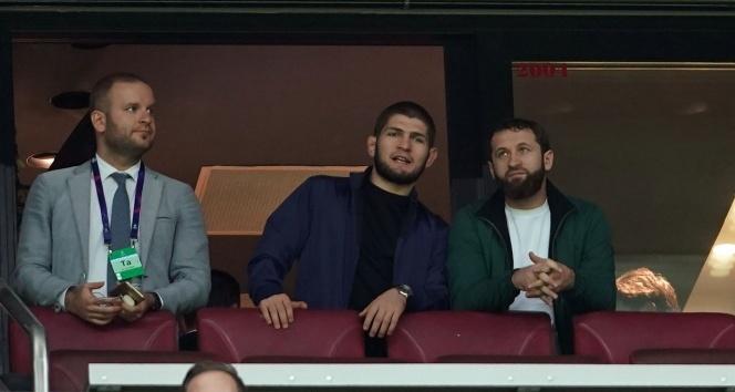Khabib Nurmagomedovdan Galatasaraya destek