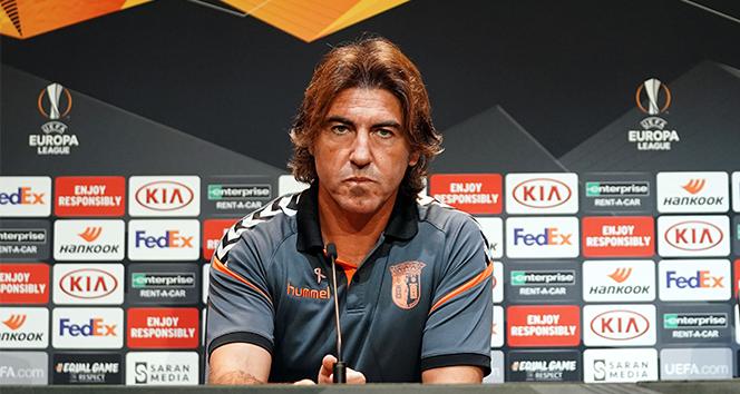 Braga Teknik Direktörü Ricardo Sa Pinto: 'Beşiktaş'ın durumunu kendi lehimize çevirebiliriz'
