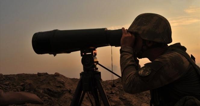 Barış Pınarı bölgesine sızmaya çalışan 1 PKK/YPG'li terörist etkisiz hale getirildi