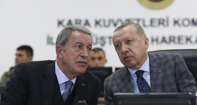Cumhurbaşkanı Erdoğan'dan sürpriz ziyaret! Sınıra indi