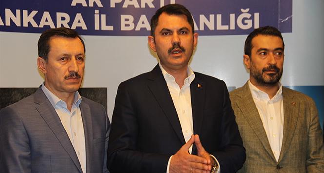 Bakan Kurum: 'Kentsel dönüşüm önceliğimiz'