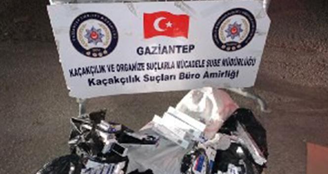 Bin 200 paket kaçak sigara ele geçirildi
