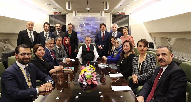 Cumhurbaşkanı Erdoğan'dan ABD ziyareti hakkında önemli açıklamalar