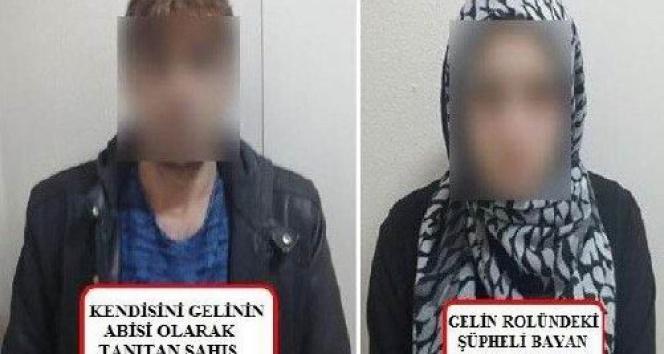 Evlilik vaadi ile dolandırıcılık yapan 2 şahıs yakalandı