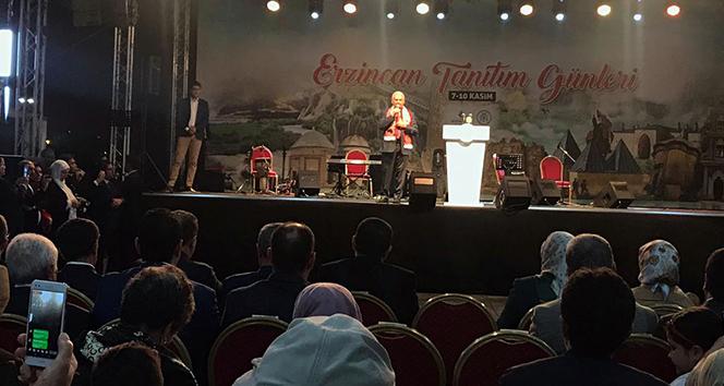 AK Parti İzmir milletvekili Binali Yıldırım Erzincan Tanıtım Günleri'nde