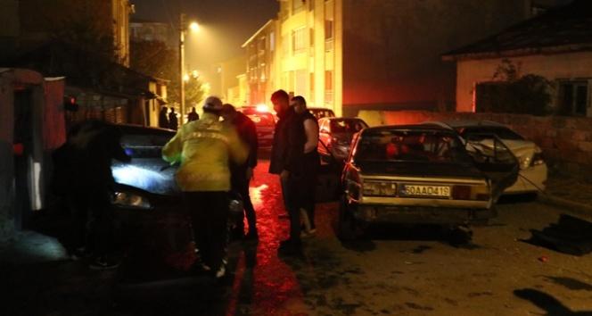 Sivas'ta trafik kazası:7 yaralı