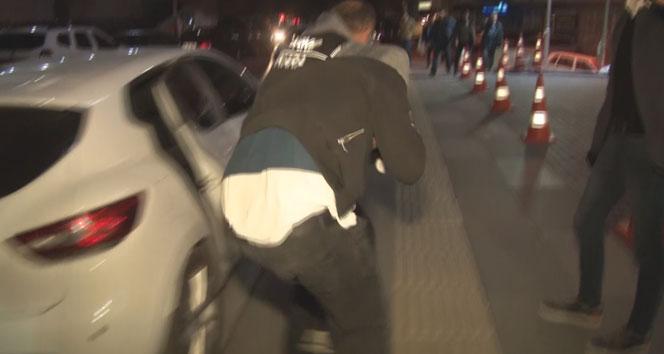 Başkent'te narkotik ekiplerinden torbacı operasyonu