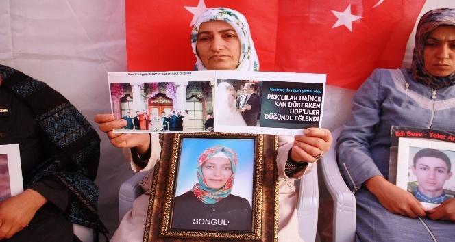 HDP önündeki ailelerin evlat nöbeti 69'uncu günde