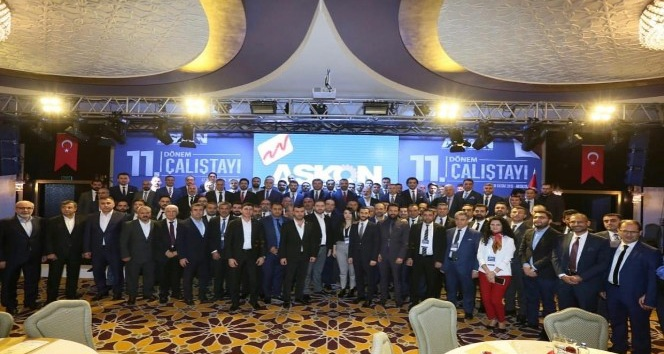 ASKON 300 iş adamı ile Antalya'da
