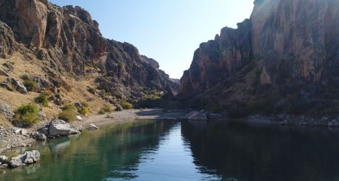 9 Milyon yıllık yeni keşif kanyonları bir de böyle görün