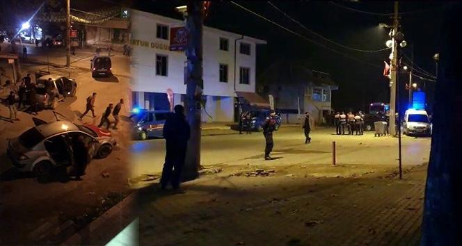Sakarya'da ki taşlı, sopalı ve silahlı kavgada: 27 gözaltı