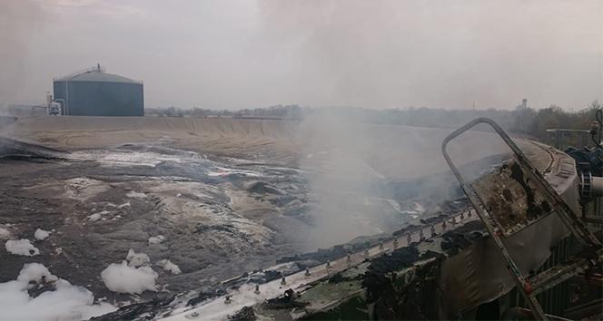 SÜTAŞ Fabrikası'nda büyük yangın