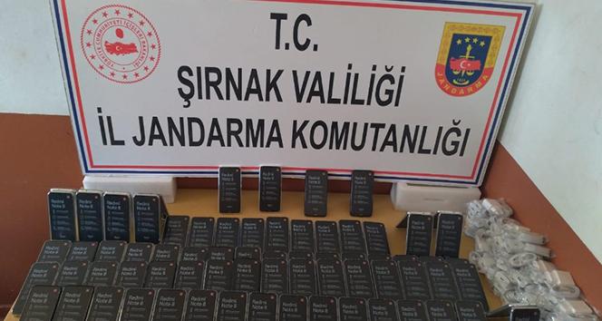 Şırnak'ta uyuşturucu ve kaçakçılık operasyonu: 46 gözaltı