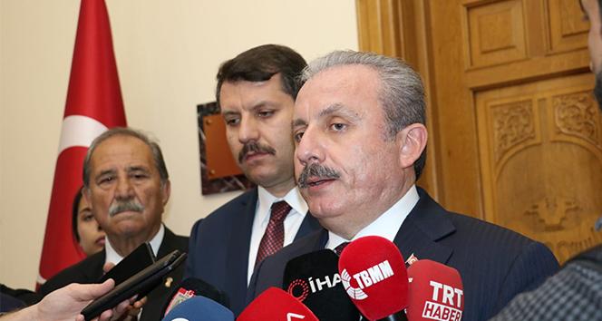 TBMM Başkanı Şentop: 'Türkiye Cumhurbaşkanımızın liderliğinde önemli bir diplomatik başarı elde etmiştir'