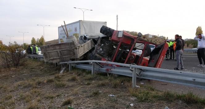 Başkentte feci kaza: 1 ölü, 2 yaralı