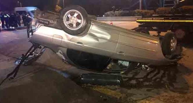 Otomobilden fırlayan sürücü öldü