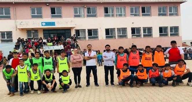 Öğretmenlerden öğrenciler için Şampiyonlar Ligi tadında maç