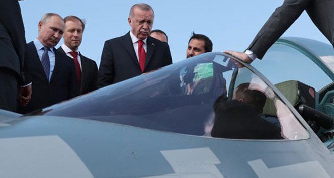 Rusya: 'Türkiye'ye Su-35 ve Su-57'leri göndermeye hazırız'