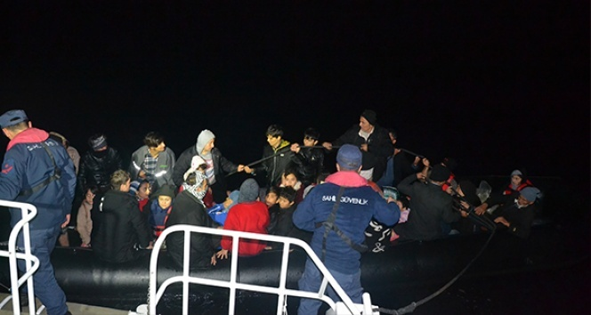 Balıkesir'in 90 düzensiz göçmen yakalandı