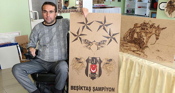 Kara kartal aşığı Nuh'un tek isteği Beşiktaş stadyumunda maç izlemek