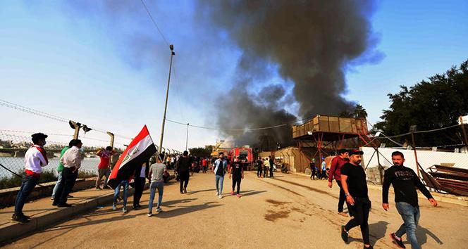 Bağdat'taki güvenlik güçleri Ahrar Köprüsü'nü kontrol altına aldı