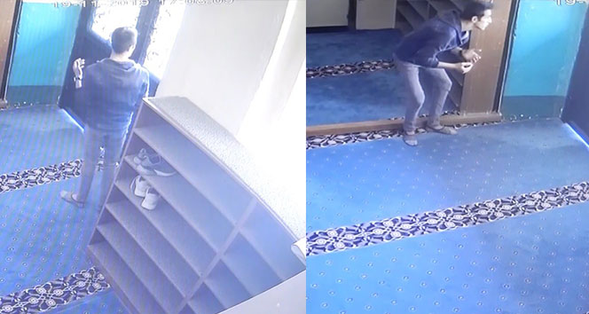 Önce dua ettiler, sonra kapıyı kırıp camiyi soydular